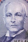 BARBADOS - CIRCA 2007: John Redman Bovell (1855-1928) on 2 Dollars 2007 Banknote from Barbados. Barb