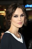 LOS ANGELES - JAN 15: Kiera Knightly at the premiere of Paramount Pictures' 'Jack Ryan: Shadow Recru