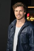 LOS ANGELES - JAN 15: Derek Theler at the premiere of Paramount Pictures' 'Jack Ryan: Shadow Recruit' at TCL Chinese Theater on January 15, 2014 in Los Angeles, CA