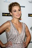 LOS ANGELES - JAN 11:  Clare Bowen at the  2014 G'Day USA Los Angeles Black Tie Gala at JW Marriott