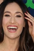 LOS ANGELES - JUL 17:  Maggie Q at the CBS TCA July 2014 Party at the Pacific Design Center on July