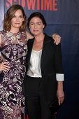 LOS ANGELES - JUL 17:  Ruth Wilson, Maura Tierney at the CBS TCA July 2014 Party at the Pacific Desi