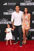 LOS ANGELES - JUL 16:  Mario Lopez, Courtney Mazza at the