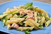 Pasta With Salmon And Rocket
