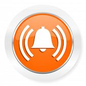 alarm orange computer icon