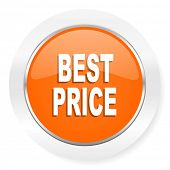 best price orange computer icon