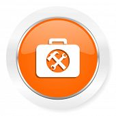toolkit orange computer icon