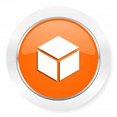 box orange computer icon