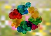 Colorful Watercolor Splatters