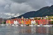 Bergen, Norway. Quay Bryggen