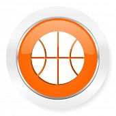 ball orange computer icon
