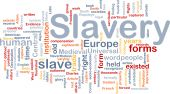 Slavery Word Cloud