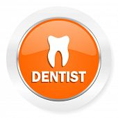 dentist orange computer icon