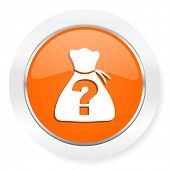 riddle orange computer icon