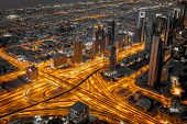 Dubai vains of the city