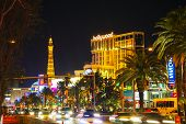 Las Vegas Boulevard In The Night