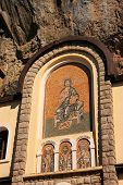 Mosaic Icons On The Facade Of Ostrog Monastery, Montenegro