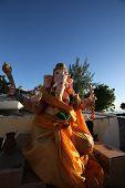 Ganesh temple in Mauritius island