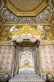 Versailles, France - JUN 20: Interior of royal bedrooml at Chateau de Versailles (Palace of Versaill