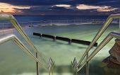 Bronte Baths At Dawn, Bronte Beach, Australia