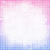 Abstract pixel mosaic gradient colorful background
