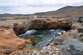 Northern coast of Aruba