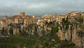 Top view of the city. Cuenca, Spain