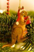 Australian Kangaroo Christmas Tree Decoration