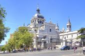 Catholic Cathedral Of The Virgin Of Almudena