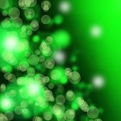 Green Bokeh Abstract  Backgrounds