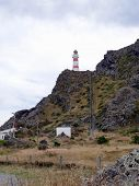 Cape Palliser Lighthouse With Long Stairs