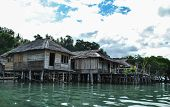 House over the Water in Togean island