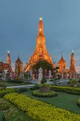 The Famous of Thailand Buddhist temple name is Wat Arun