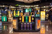 The Irish Whiskey Collection Is On Display At Dublin Airport