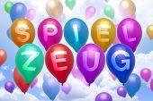 German Toys Balloon Colorful Balloons