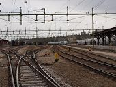 Rails and wires