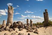 Stone Forest Near Varna, Bulgaria, Pobiti Kamani, Rock Phenomenon