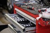 Garage tool box
