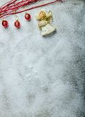 Snowy Plate, Christmas Decorations