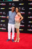 LOS ANGELES - MAR 11:  Cory D. Hardrict, Tia Mowry at the