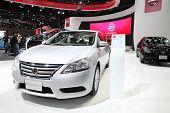 Bangkok - November 28: Nissan Sylphy Car On Display At The Motor Expo 2014 On November 28, 2014 In B