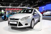 Bangkok - November 28: Ford Focus Car On Display At The Motor Expo 2014 On November 28, 2014 In Bang