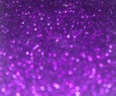 Abstract Violet Bokeh Background