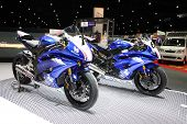 Bangkok - November 28: Yamaha Motorcycle On Display At The Motor Expo 2014 On November 28, 2014 In B