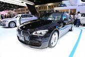 Bangkok - November 28: Bmw Activehybrid 7L Car On Display At The Motor Expo 2014 On November 28, 201