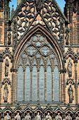 Lichfield Cathedral window.