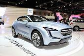 Bangkok - November 28: Subaru Viziv Concept Car On Display At The Motor Expo 2014 On November 28, 20