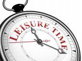 Leisure Time Concept Clock