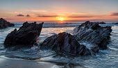 Rocky Cornish Beach