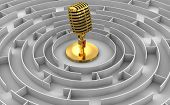 Maze to  Gold Microphone
